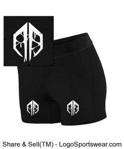 Destroid Runner Shorts Design Zoom
